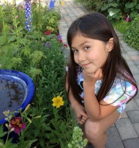 My garden imp, Isa
