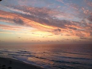 cancun sunrise