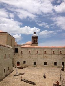 church in Oaxaca