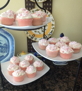 Peppermint cupcakes!