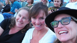 Out of the blue, my dear friends Michele and Julie invited me to a Joan Baez/Indigo Girls concert as an early birthday present. It was magical.